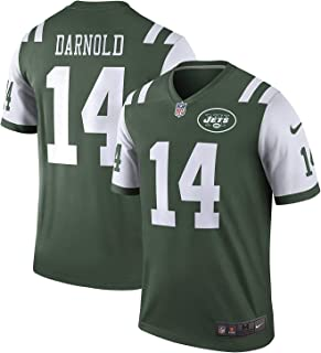 Nike Men's Sam Darnold New York Jets Legend Dri-FIT Green/White Jersey 468963-377 (XX-Large)