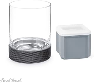 Final Touch Breakaway Hockey Puck Tumbler with Square Ice Mould
