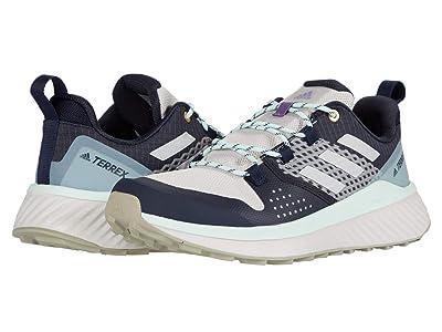 adidas Outdoor Terrex Folgian Hiker (Legend Ink/LGH Solid Grey/Dash Green) Women