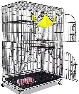 猫 ケージ 小動物 2段 ケージ2段 室内3段 楽々組み立て式