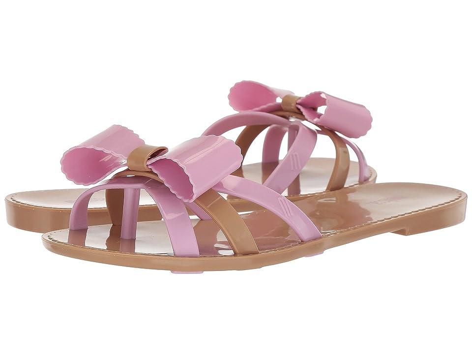 Melissa Shoes Fluffy II (Beige/Pink) Women