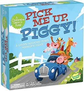 Peaceable Kingdom Pick Me Up, Piggy! A Cooperative Memory Game for Kids