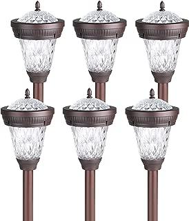 Westinghouse (6 Pack) Bastille II Solar LED Stake Light, Bronze