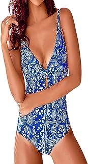 (プタス)Putars 女性のビキニソリッドセットツーピース水着いっぱいブラ水着ビーチウェア