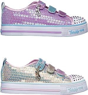 Official Brand Skechers Twinkle Toes Mermaid Magic Trainers Infants Girls Sneakers Footwear