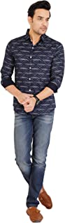 MD Casual Men's Cotton Casual Multicolor Shirt for Men Full Sleeves