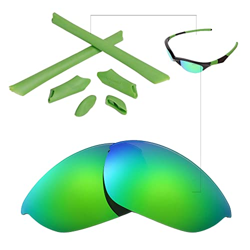 8f16aec182 Walleva Replacement Lenses Or Lenses Rubber for Oakley Half Jacket  Sunglasses - 48 Options Available