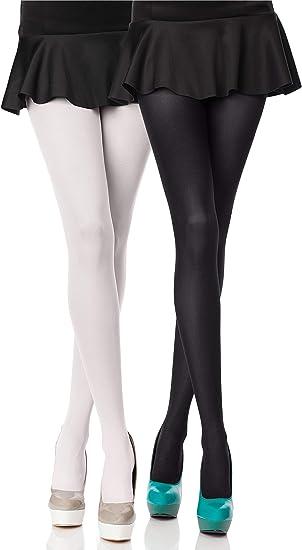 Hengsong Merry Style Collant Opaque Lisse Microfibre V/êtements Femme Chaussettes en Dentelle