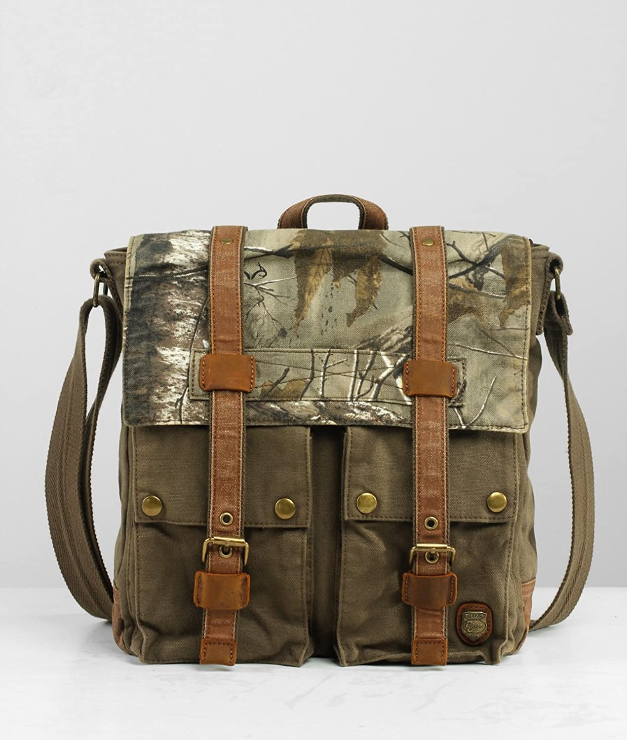 Canvas Bag Backpack Waterproof Backpack Notebook Stationery Backpack Lightweight Casual Backpack With Ladies Men's Leather Handle