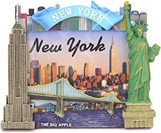New York City Picture Frame for 4x6 Photos from NYC Photo Frames Collection (6.75