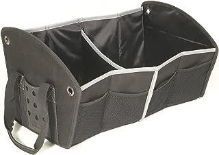 Rubbermaid Automotive Portable Tote Bag Organizer: Cargo Area/Car Trunk Storage Caddy, Double Bin
