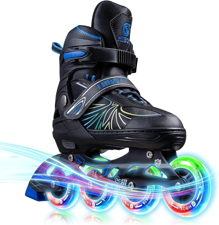 Hiboy Inline Max 65% OFF Skates for Kids Adjustable Some reservation Youth Roller and