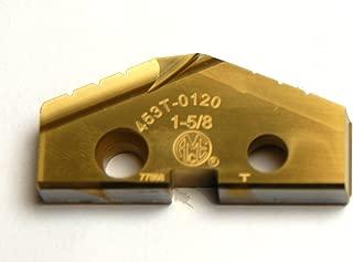 1-7//32 SPADE DRILL INSERT 1.2187 T-15 TIN COATED SERIES 2 TA