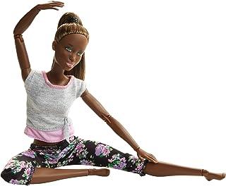 Barbie Made to Move Doll 3 FTG80-FTG83, Multi-Colour, FTG83