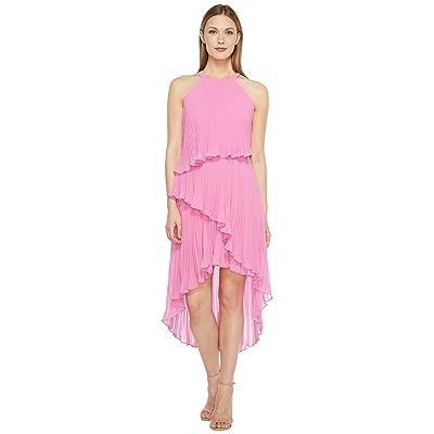 Laundry by Shelli Segal Tiered Chiffon Dress (Crocus) Women