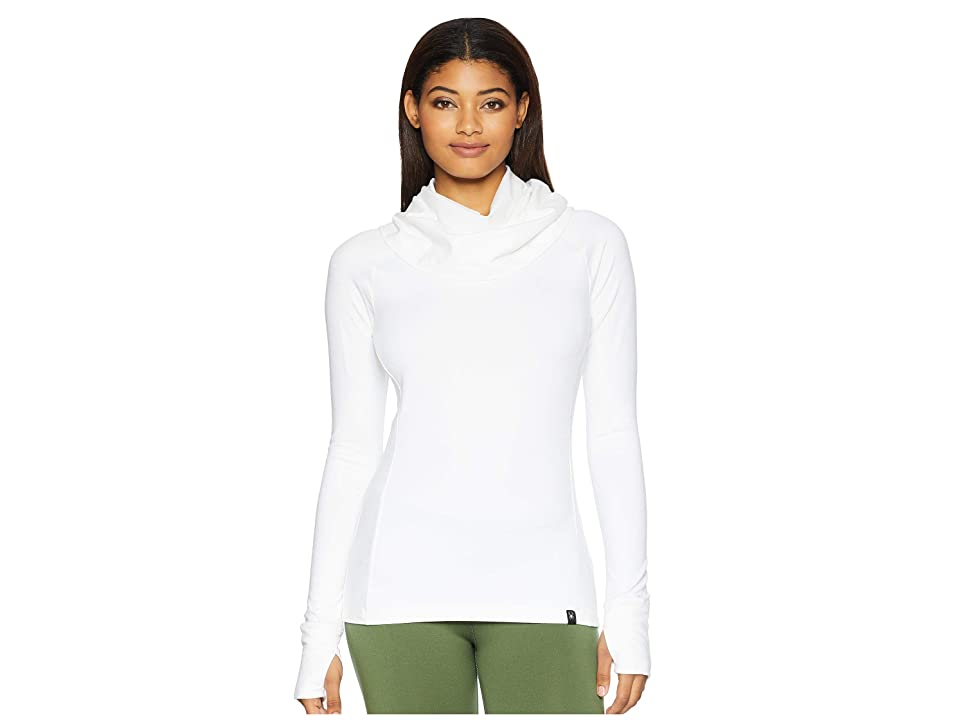 Spyder Solitude Funnel Neck Top (White/White) Women
