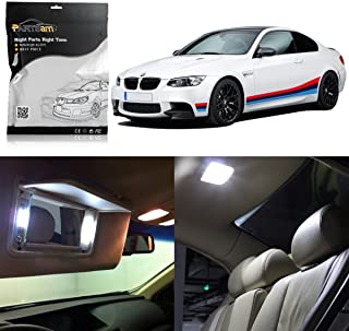 Partsam LED Interior Light Package Replacement Lights Kits fits Compatible with BMW E90 E91 E92 E93 2006-2011