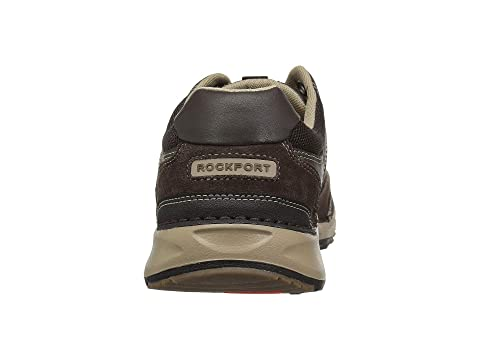 Amargo 5 Rockport Cordones Rocsports Lite Blackbreendark De Chocolate wqUqg0