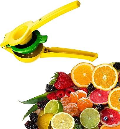 JPOL Top Rated Lemon Lime Squeezer Manual Citrus Hand Press Juicer Premium Quality Metal