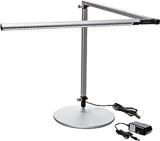Koncept AR3000-W-SIL-DSK Z-Bar LED Desk Lamp, Warm Light, Silver