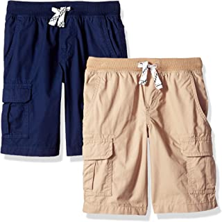 Carter's Boys' 2-Pack Pull-on Woven Shorts
