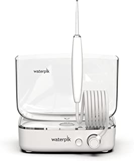 Waterpik Sidekick Portable Water Flosser Perfect for Travel & Home, White/Chrome