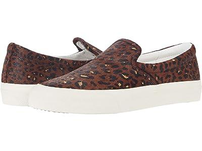 Madewell Sidewalk Slip-On Sneaker (Rich Brown Multi Haircalf) Women