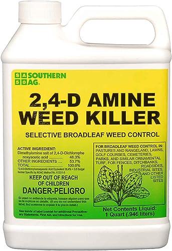 Southern Ag Amine 2,4-D WEED KILLER, White Bottle