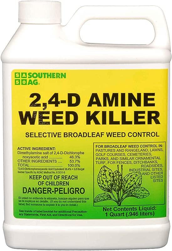 Southern Ag Amine 24 D Weed Killer White Bottle