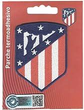 PARCHE OFICIAL TERMOADHESIVO BORDADO TELA ATLETICO DE MADRID WANDA 5,5 X 7,5 CM