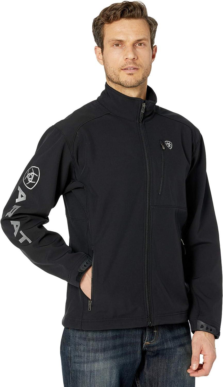 ARIAT Max 56% OFF Men's Americana Ranking TOP7 Flag Print 2.0 Softshell Jacket Logo