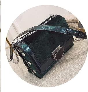 2018 Retro Fashion New Women Handbags Women's Designer Handbag Velvet Women bag Chain Shoulder bag Phone Square bag