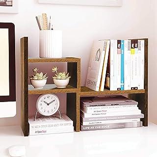 Jerry & Maggie – Desktop Organizer Office Storage Rack Adjustable Wood Display..