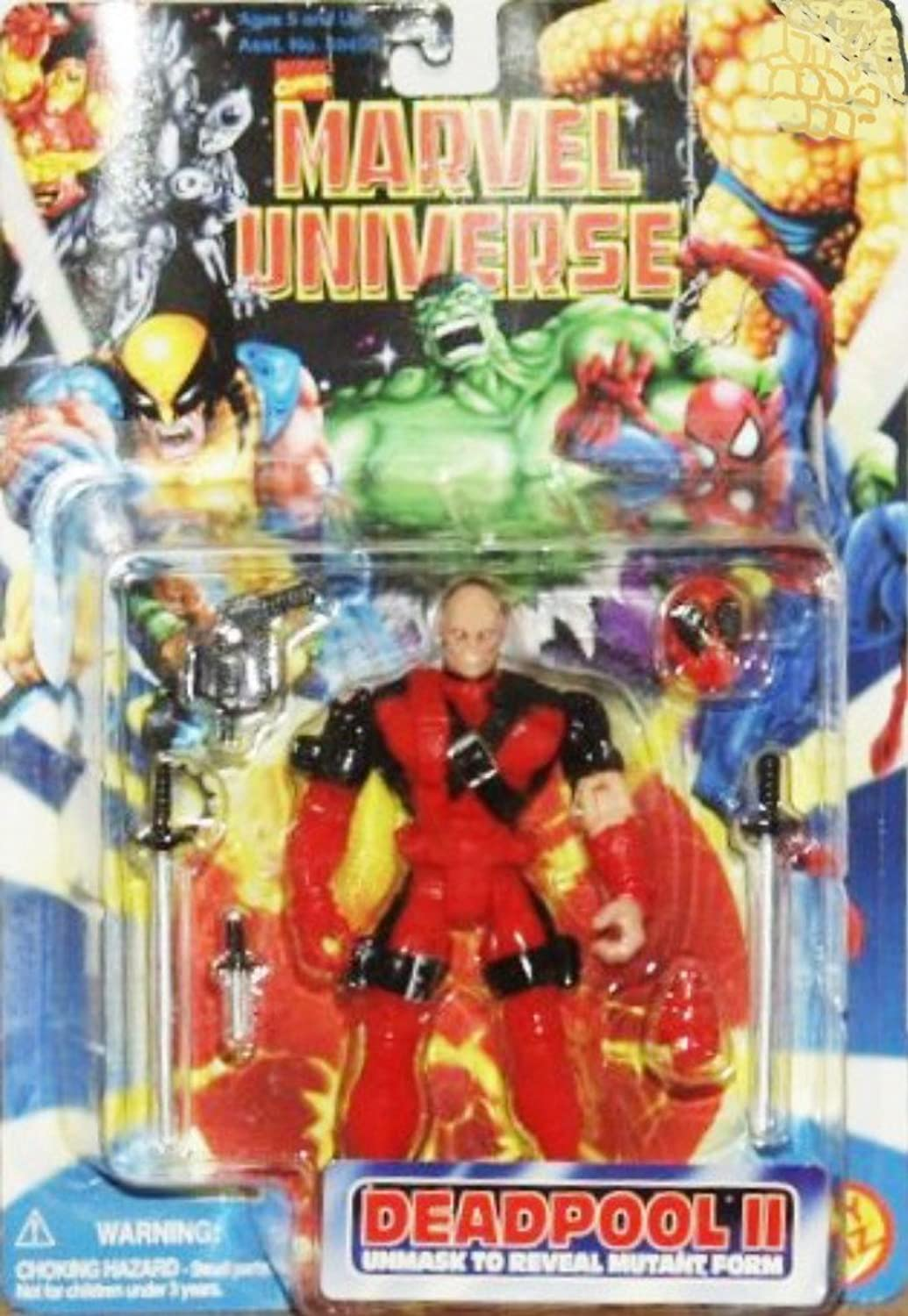 Toy Biz, Inc. Marvel Universe Deadpool Ii 1996 Action Figure