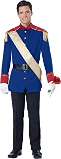 California Costumes Men's Storybook Prince, Blue/Red, Small