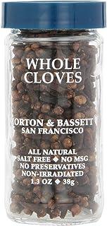 Morton & Bassett Whole Cloves, 1.3-Ounce jar