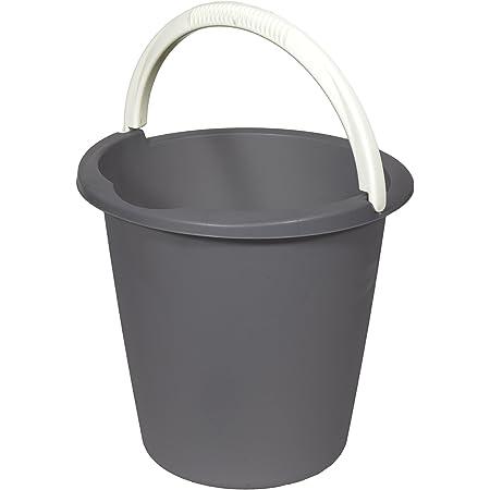 CURVER | Seau 10L Basic, dark grey, Buckets, 29,3x29,3x28 cm