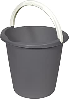 CURVER | Seau 10L Basic, dark grey, Buckets, 29,3x29,3x28 cm