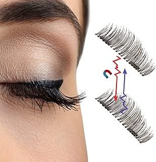 Double Magnetic False Eyelashes Natural Eye Lashes Extension Handmade