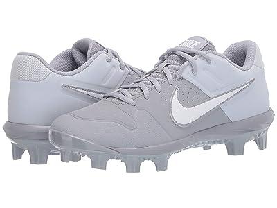 Nike Alpha Huarache Varsity Low MCS (Wolf Grey/White/Pure Platinum) Men
