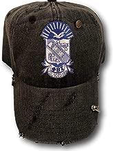 Phi Beta Sigma Black Faded Dad Hat Cap