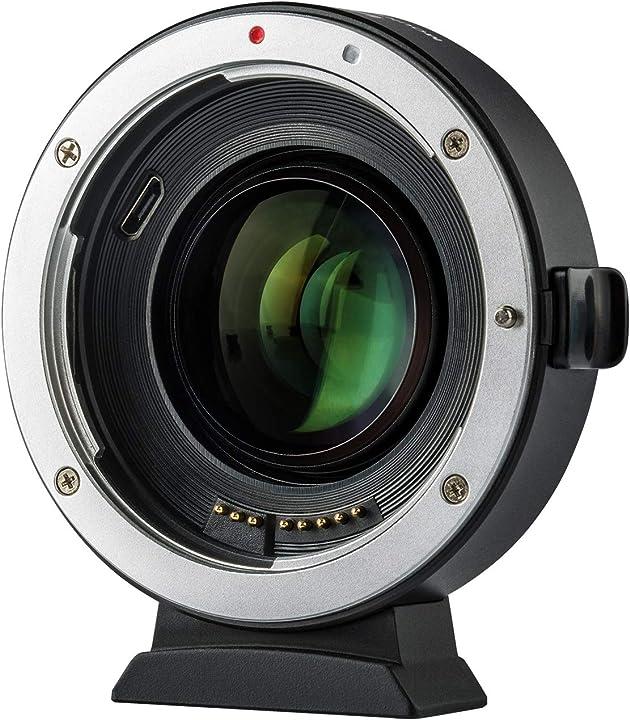 Viltrox ef-eos m2 auto focus elettronico 0.71 x riduttore di focale attacco obiettivo 3216629989