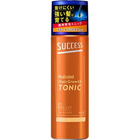 サクセス 薬用 育毛トニック フルーティシトラスの香り 180g 予防 頭皮ケア [医薬部外品] 育毛剤