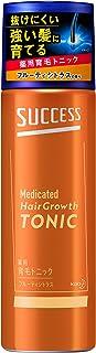 サクセス 薬用 育毛トニック フルーティシトラスの香り 180g 予防 頭皮ケア [医薬部外品] 育毛剤 180グラム (x 1)