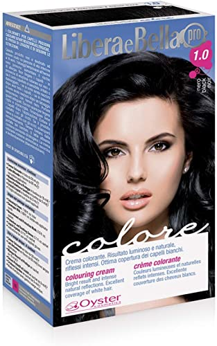Libera e Bella - Pro Colore, Crema Colorante 1.0 nero
