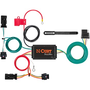 Amazon.com: CURT 56303 Vehicle-Side Custom 4-Pin Trailer Wiring Harness,  Select Chevrolet Sonic, Black: AutomotiveAmazon.com