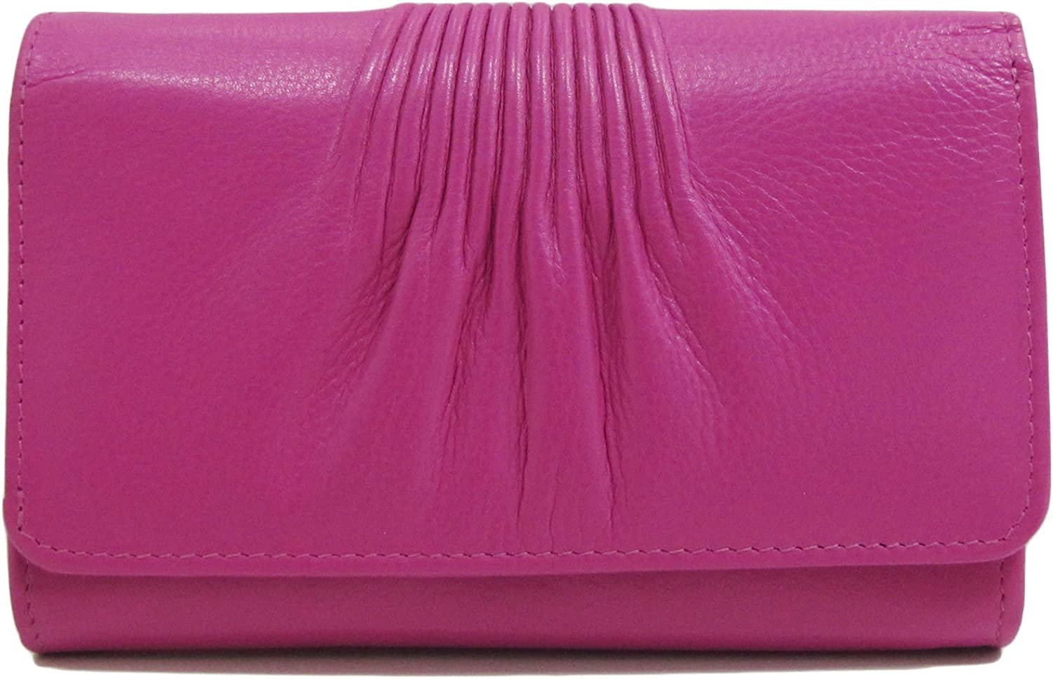 Ili Leather 6673 Wallet with RFID (Fabulous Fuchsia)