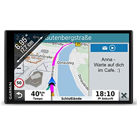 Garmin Drivesmart 65 Mt D Eu Navi Extragroßes Touch Display 3d Navigationskarten Und Live Traffic Navigation