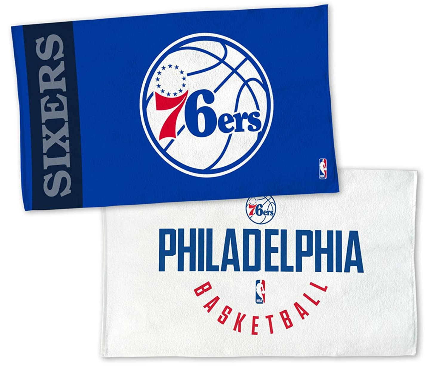 めったにトンネル式WinCraft NBA Philadelphia 76ers on Courtタオル、NBAロッカールームAuthentic Edition 22?x 42インチ
