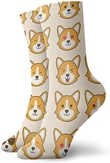 Tammy Jear, Calcetines estampados para hombre y mujer Funny Pug 2 Colorful Funny Crew Socks